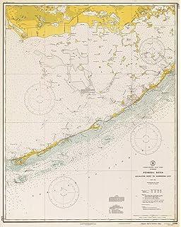 Map Of Marathon Florida.Amazon Com Florida Maps 1971 Marathon Fl Usgs Historical