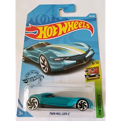 Hot Wheels 2020 Hw Exotics - Twin Mill Gen-E, Blue 222/250: Toys & Games