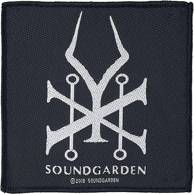Soundgarden Badmotorfinger Patch 10cm x 9.5cm