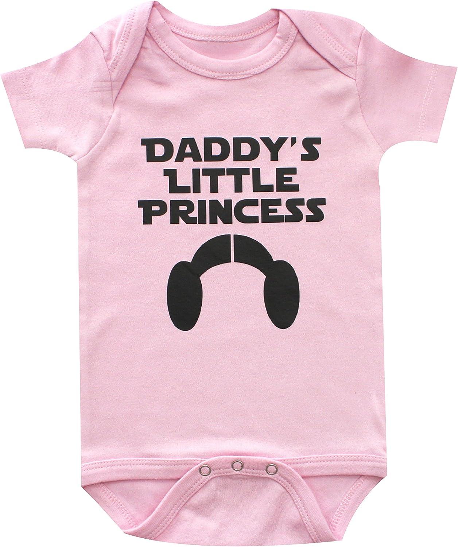 Daddys Little Princess Ruffle Bodysuit