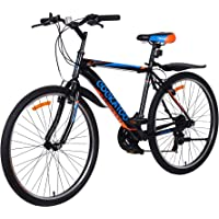 Cockatoo CBC-02 Elite Series 26T & 18 Speed Carbon Steel Mountain Bike,Cycle(2 Year Warranty)