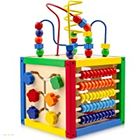 Deals on Play22 Activity Cube with Bead Maze