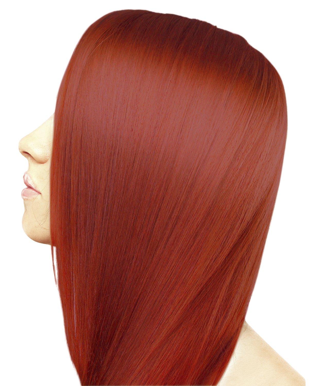 amazon com ion 7rr intense red permanent creme hair color 7rr