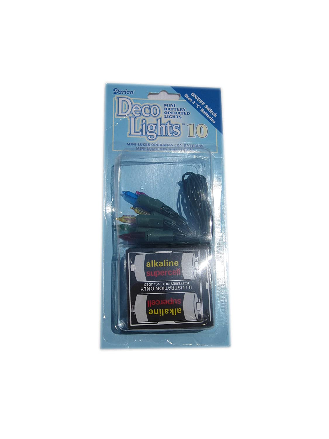 WGI 10 Piece Battery Light Set Assorted 2 sets