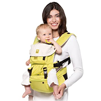 Lillebaby Seatme Hip Seat Baby Carrier Citrus