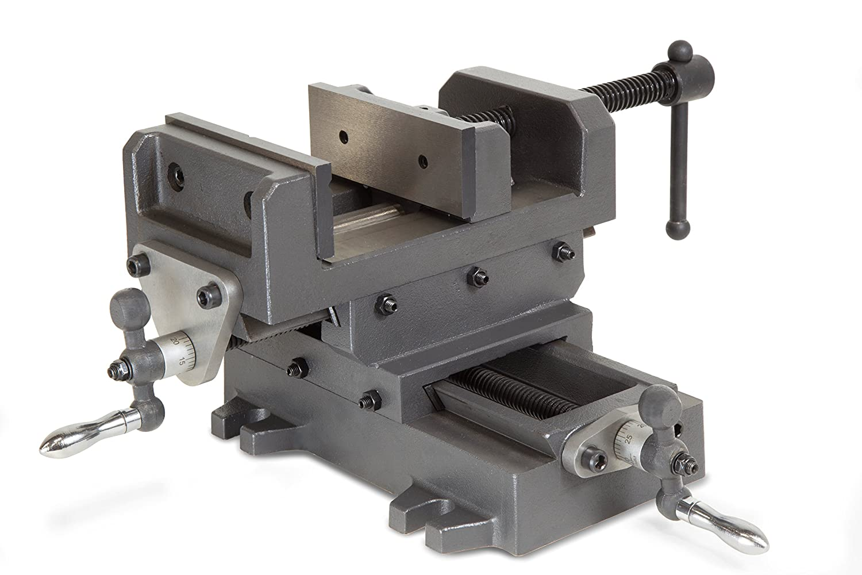 WEN 414CV 4.25' Compound Cross Slide Industrial Strength Benchtop & Drill Press Vise