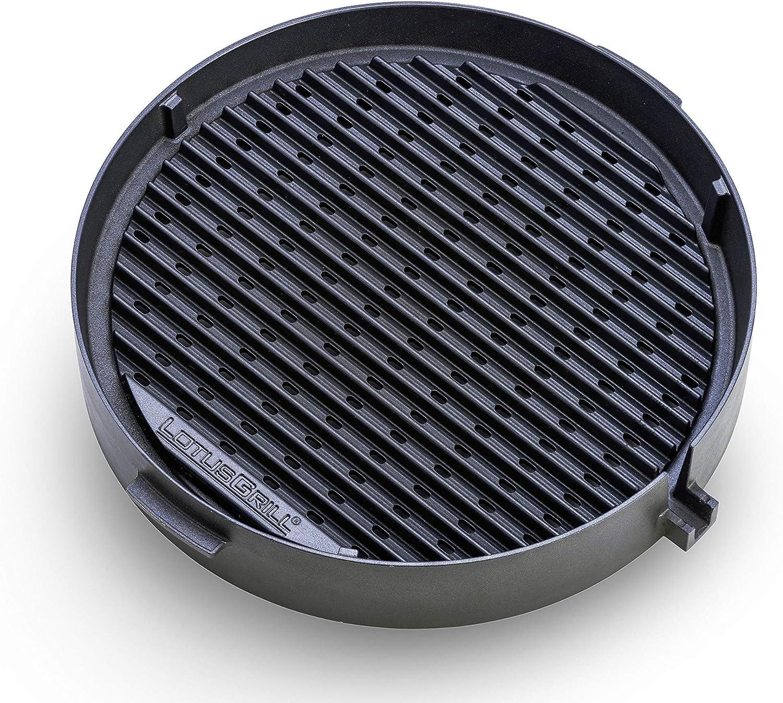 LotusGrill gietijzeren grillrooster voor gezond grillen