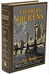 Charles Dickens: Four Novels (Leather-bound Classics) Leather Bound