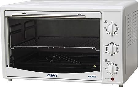 Crafft CMHVENT42L Mini horno 42 L con ventilador: Amazon.es ...
