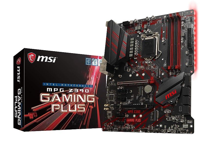 災難検査パテASRock Intel Z390 チップセット搭載 ATX ゲーミング マザーボード Z390 Phantom Gaming 6