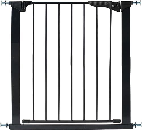 KidCo G1001 Gateway Pressure Mount Child Pet Gate Black 37 inch
