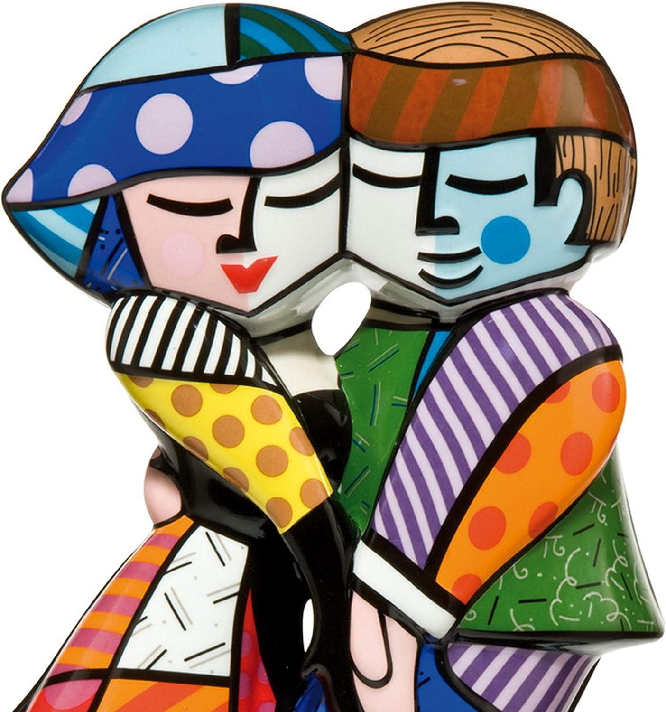 Goebel Romero Britto Pop Art Cheek to Cheek Figur 66452061