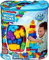 Mega Brands - First Builders Gran Bolsa Clásica para Construir,  80 piezas