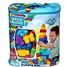 Sacola de 80 Blocos, Mega Bloks, Mattel