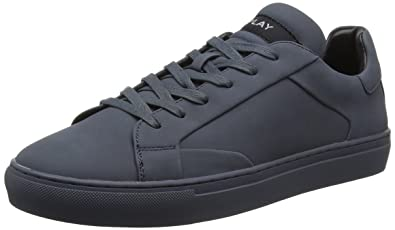 Replay Men's Surprise Low-Top Sneakers Blue Size: 8