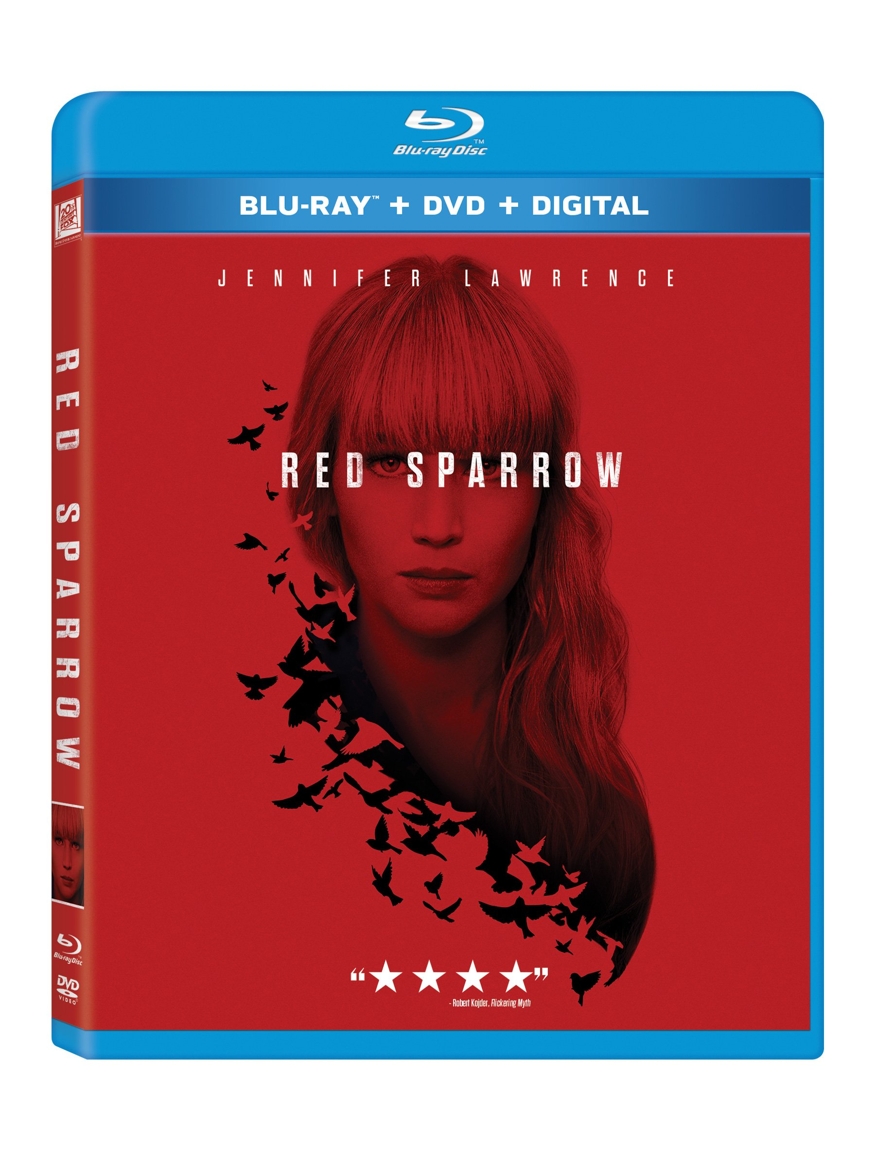 Blu-ray : Red Sparrow (With DVD, Widescreen, Dolby, Subtitled, 2PC)