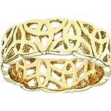 Citerna Women's 9 ct Yellow Gold Band Ring