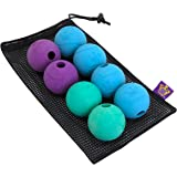Chew King Fetch Balls Durable Natural Dog Toy Ball