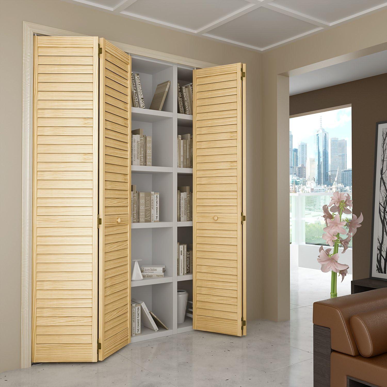 Bi-fold Door Louver Louver Plantation 1x24x80  sc 1 st  Amazon.com & Multifold Interior Doors | Amazon.com | Building Supplies - Interior ...