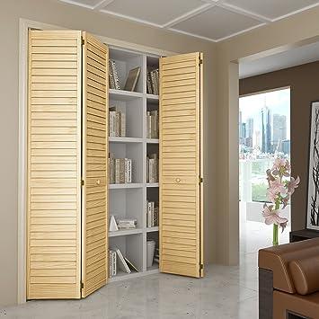 Superior Closet Door, Bi Fold, Louver Louver Plantation (36x80)