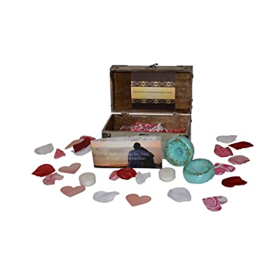 Small Romance in a Box, The Ultimate Date Night, or Valentine Night kit with complete step by step instructions.