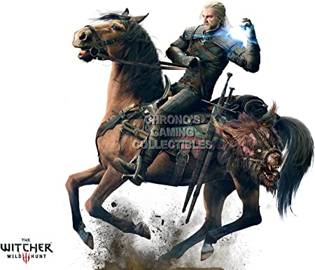 CGC enorme – Póster de The Witcher 3 Wild Hunt III PS4 XBOX ONE – ext427, papel, 24
