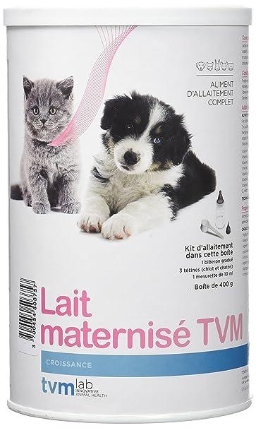 Lait Maternisé chiot chaton TVM 400g