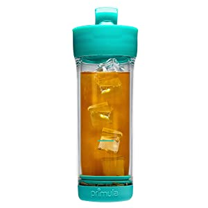 Primula Press & Go Iced Tea Brew Tumbler 16 oz, Teal