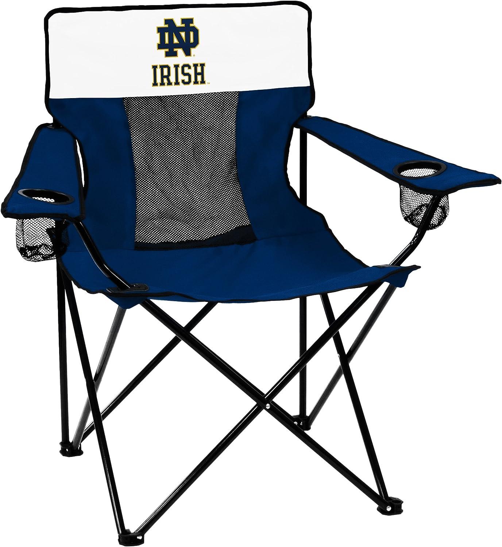 NCAA Logo Brands Notre Dame Fighting Irish Elite Chair, Team Color