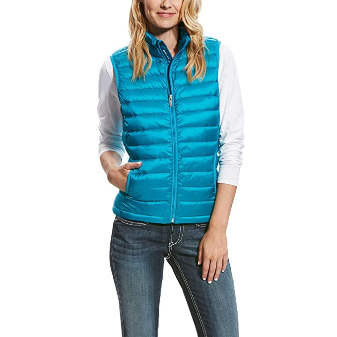 948804ed1 Ariat Women s Down Down Outerwear Vest  Amazon.co.uk  Sports   Outdoors