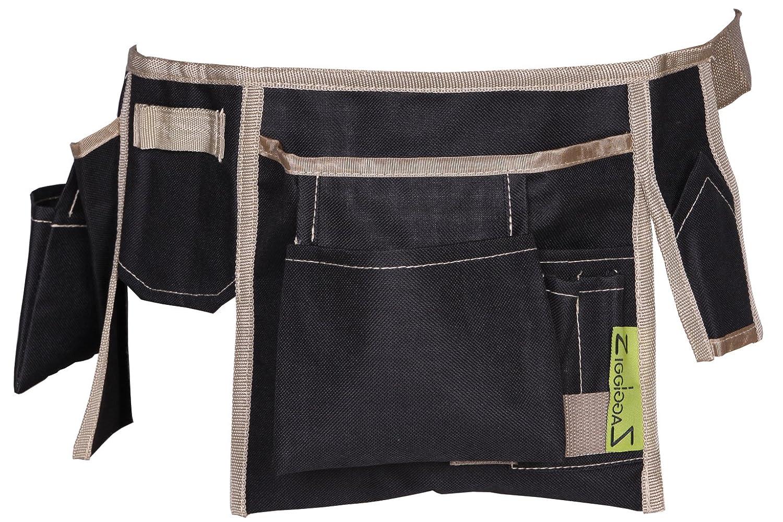 80 x 3 x 20 cm Zigg-Zagg Werkzeugg/ürtel schwarz