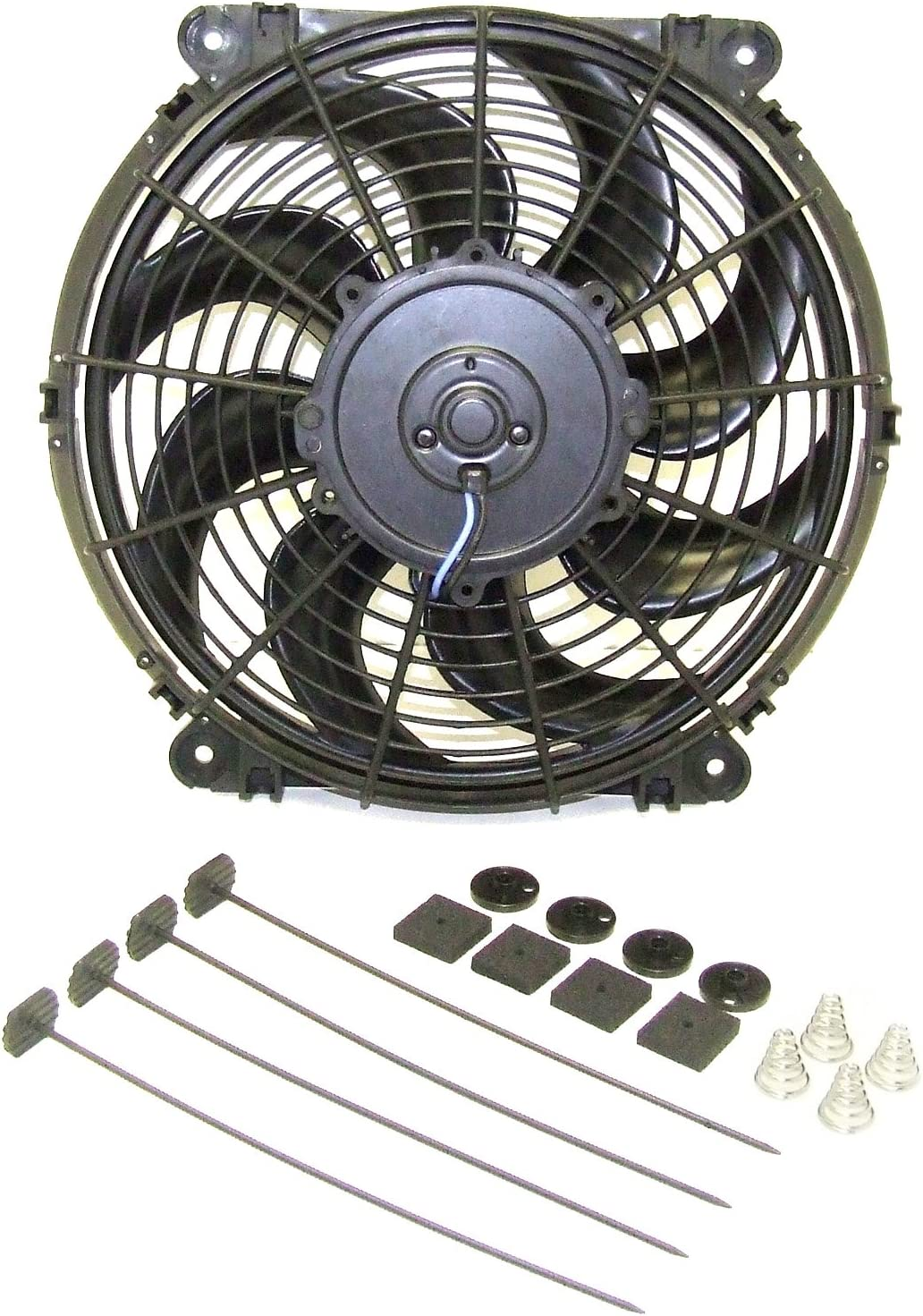 Hayden Rapid-Cool Universal Fit Reversible Fan Kit (3680) Diameter 12 Inches
