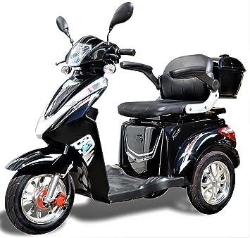 1000 W ESCO tres eléctrico 3 ruedas ESCO tres personas móvil vehículo scpack Electroacústico silla ECO