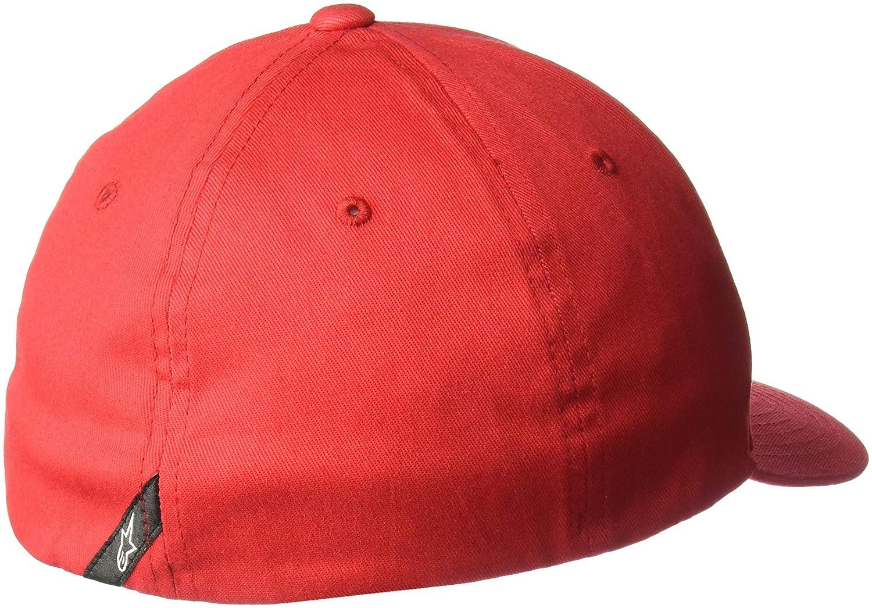 Alpinestars Ageless Curve Hat Flexfit Cap Lid Black//White Lg//XL