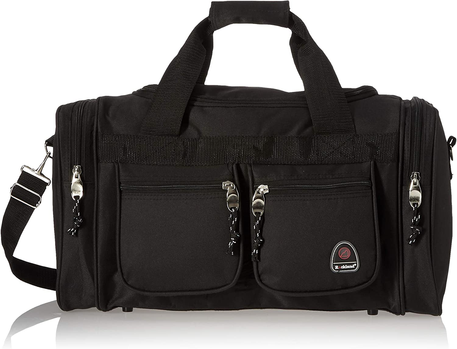 Rockland Luggage 19 Inch Tote Bag, Black, One Size