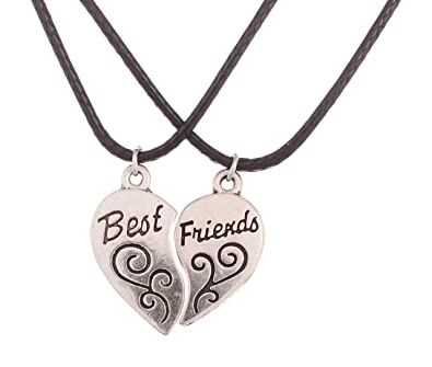 forever necklace engraved gold locket ref heat plated lockets best friends dp