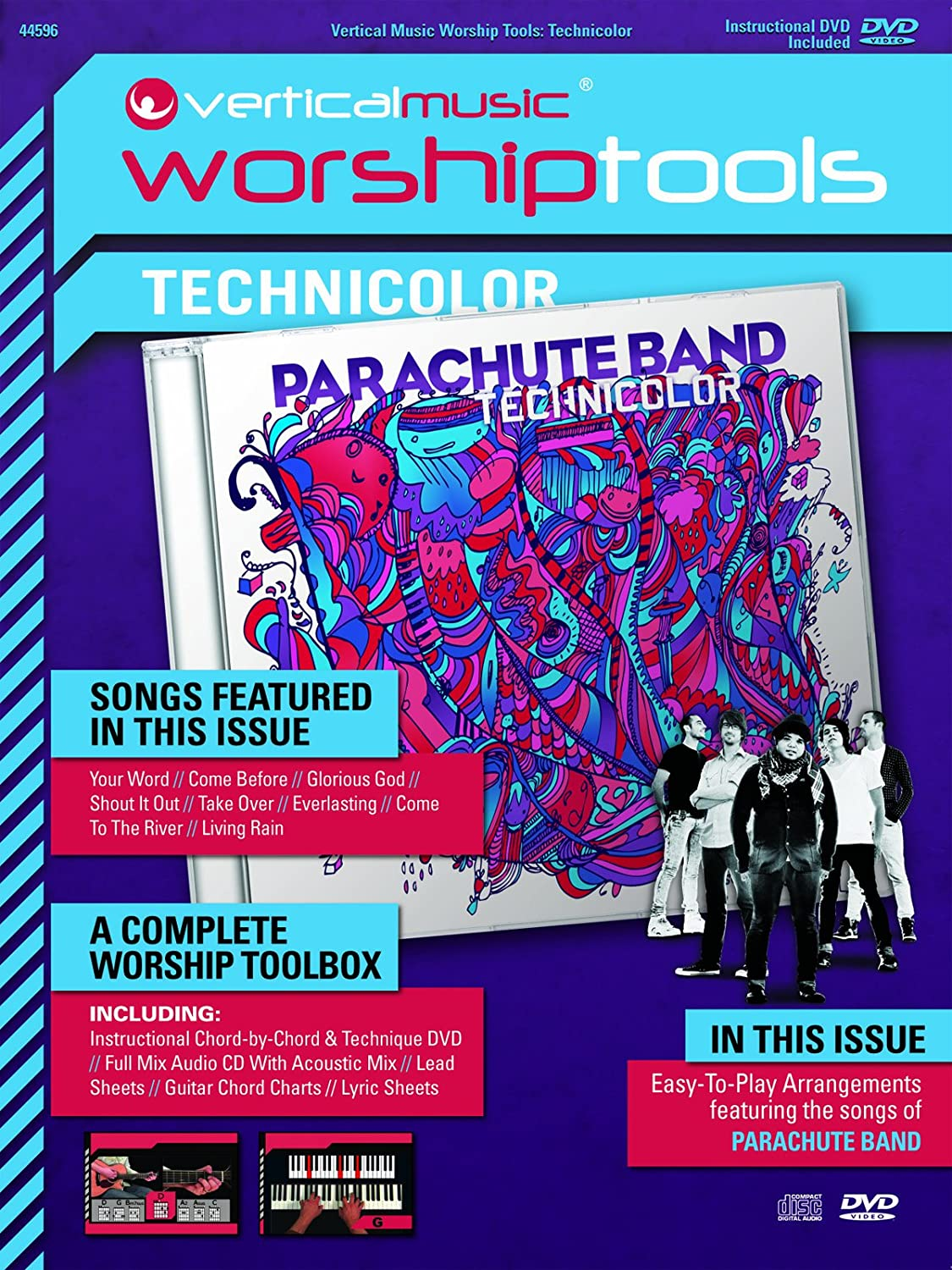 COMPLETE PARACHUTE BAND CHORDS EBOOK