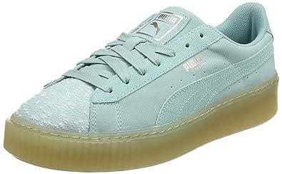 Puma Damen Suede Platform Pebble Sneaker