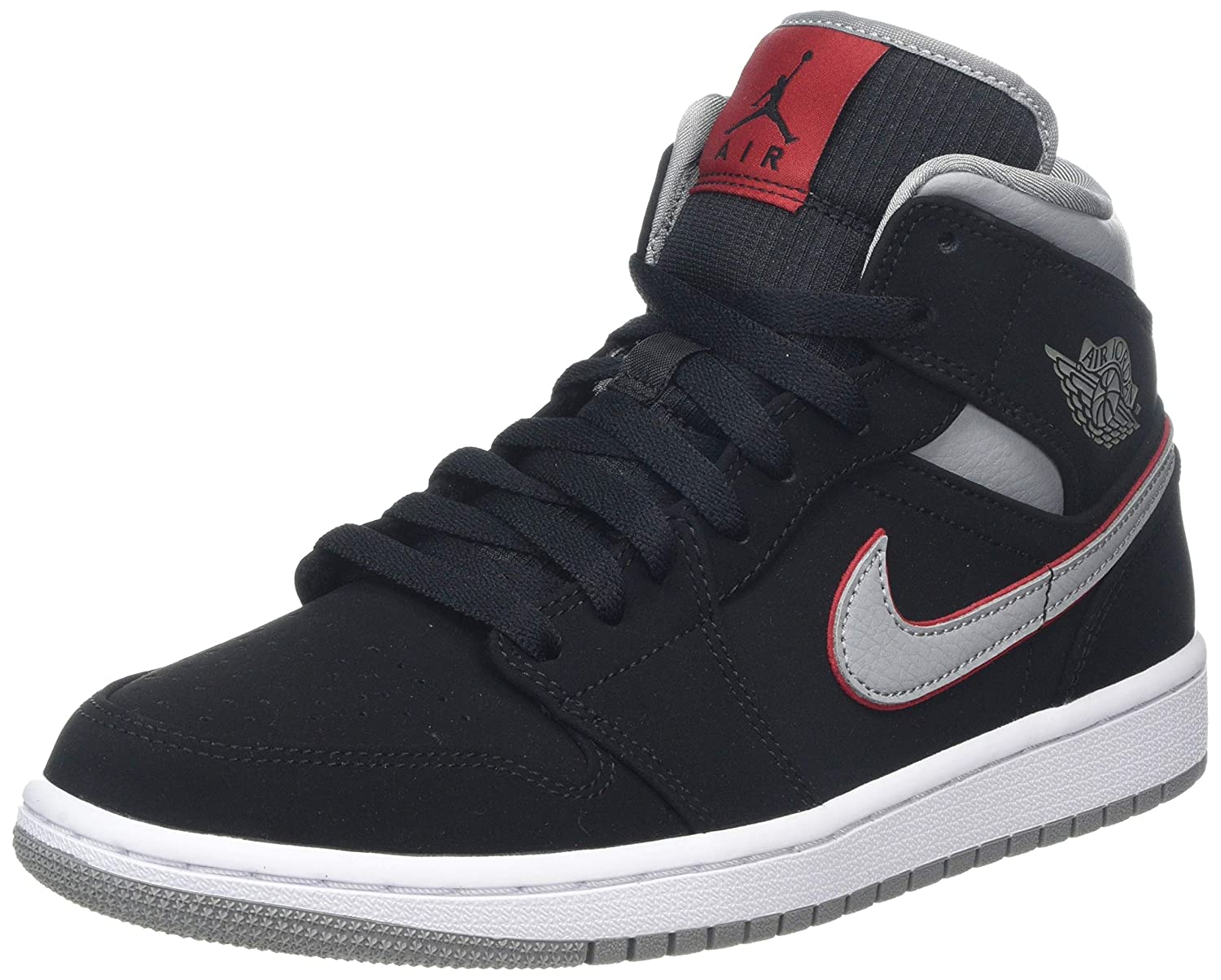 énorme réduction 381d0 84b4e Amazon.com | Nike - Air Jordan I Mid - 554724060 | Basketball