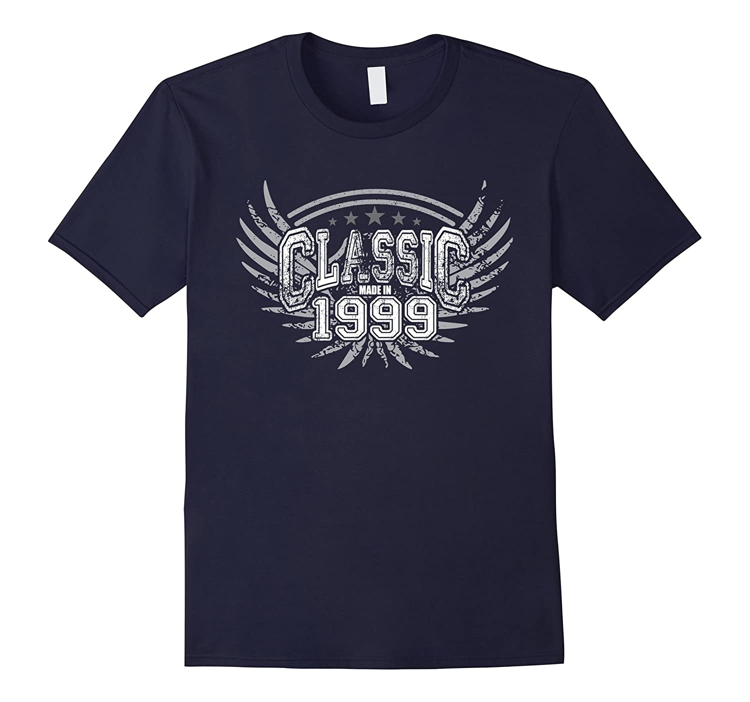 18 year old birthday gifts Classic Made in 1999 T Shirt-TD