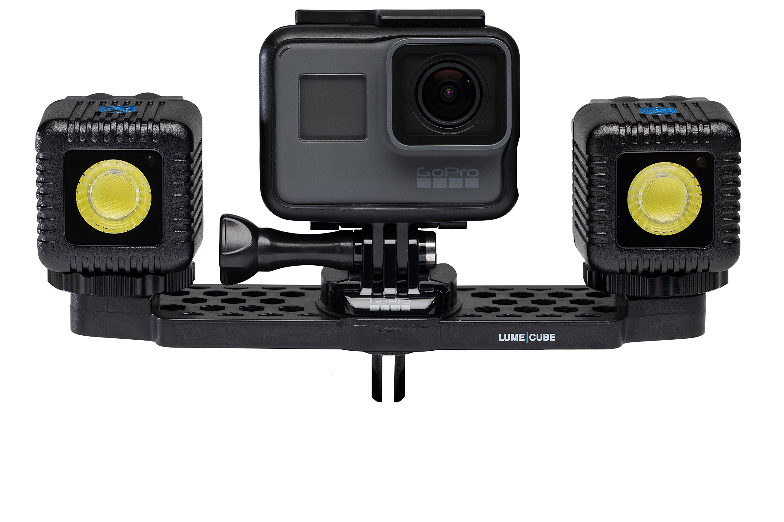 Lume Cube - Mounting Bar for GoPro/Action Cameras (Black - Mounting Bar) by LUME CUBE (Image #4)