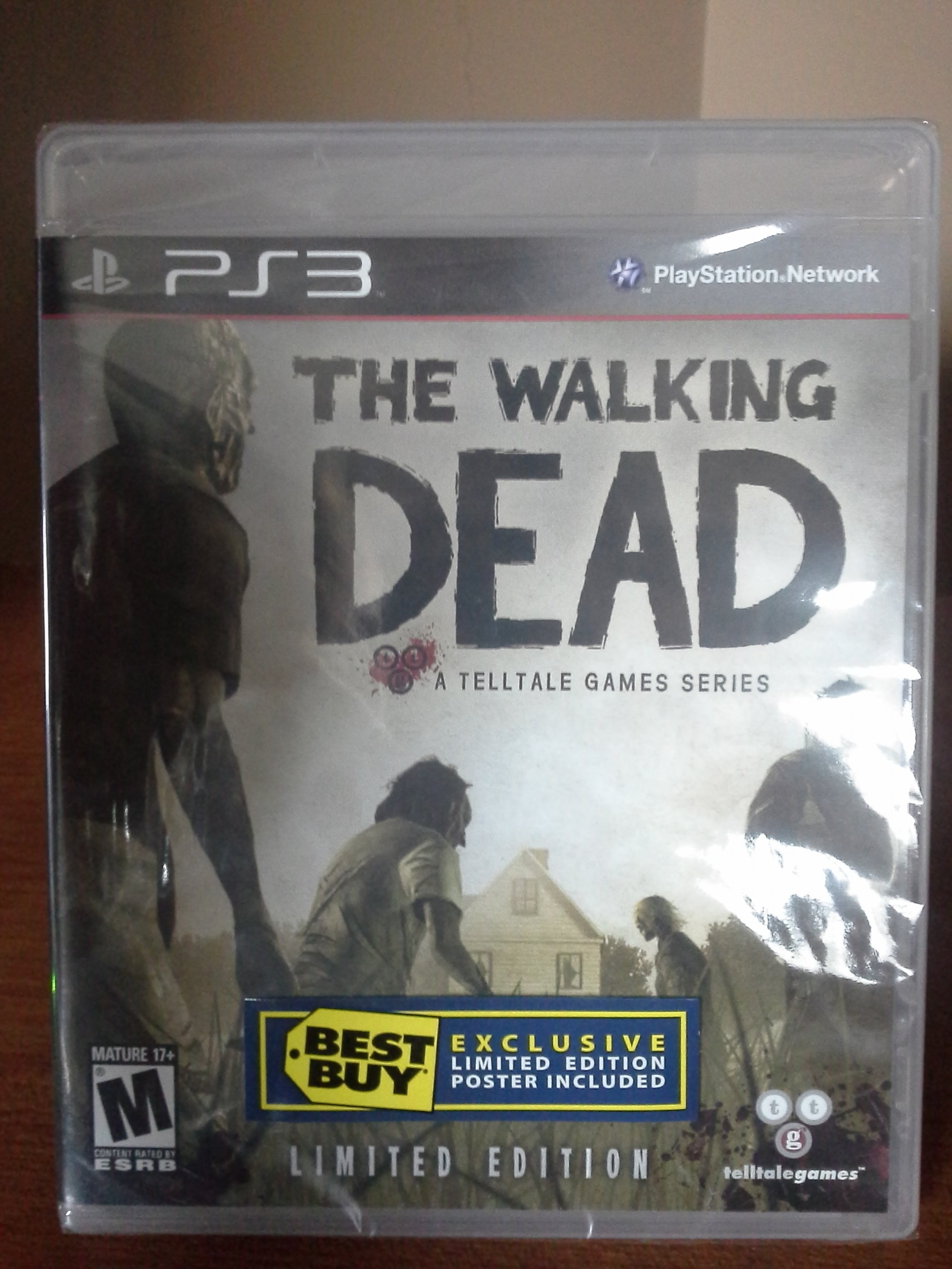 Amazon com: PS3 THE WALKING DEAD (A TELLTA: Video Games