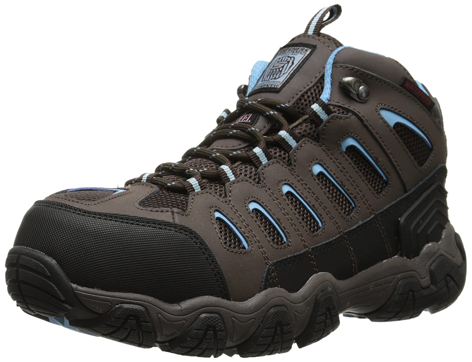 Amazon.com | Skechers for Work Blais-EBZ Steel-Toe Hiking Shoe | Hiking & Trekking