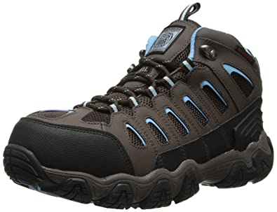 Skechers for Work Blais-EBZ Hiking Shoe,Brown,6.5 M US