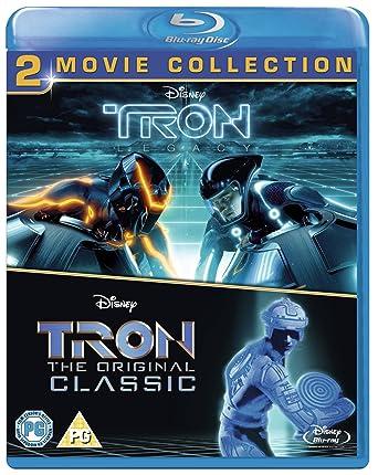 amazon com tron original tron legacy bd blu ray region free
