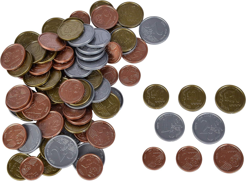 Neu Noris 606521012 Euro Spielgeld Münzen