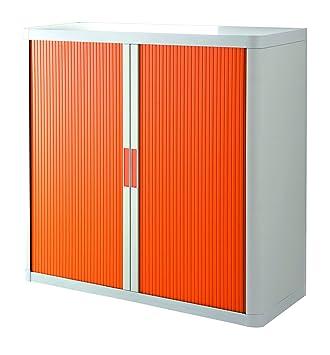 Rolladenschrank Stecksystem easyOffice weiss / orange 1m: Amazon ...
