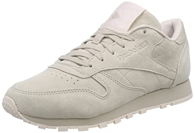 456ed697230f47 Reebok Women s Classic Leather Tonal NBK Low-Top Sneakers  Amazon.co ...
