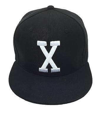 Malcolm X Hat Cap Bhm Dad Cap Snapback Custom 90s 3D Embroidered X Vintage  Black