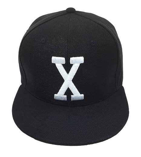 Malcolm X Hat Cap Bhm Dad Cap Snapback Custom 90s 3D Embroidered X Vintage  Black db91e127c10e